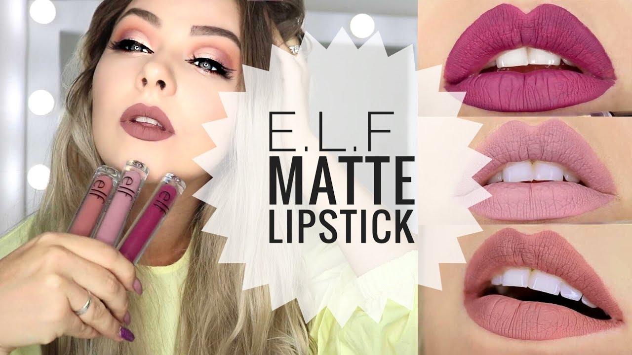 New Elf Matte Liquid Lipstick Review Best Matte Drugstore Lipstick