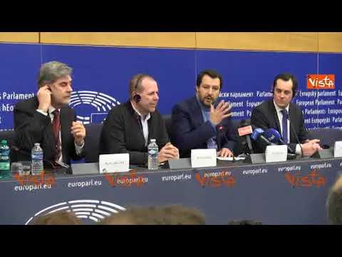 """Salvini contro i giornalisti: """"Non prendo lezioni di correttezza da gente di sinistra"""""""