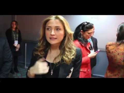 Sasha Alexander & Edoardo Ponti: Tribeca Film Festival  2014