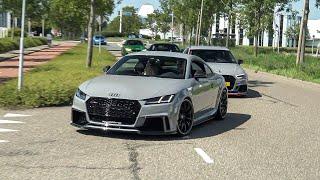 580HP Stage 2 ABT Audi TT-RS  - Launch Control, Revs & Accelerations !