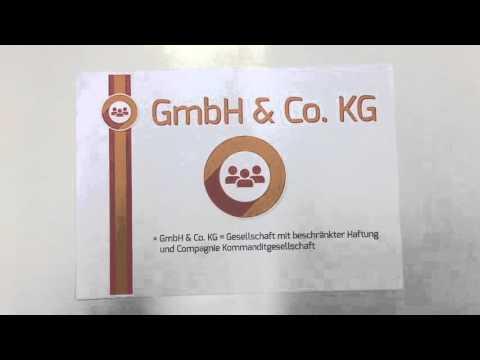 BWL Basics: Die Rechtsform der GmbH & Co. KG