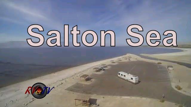 Salton Sea South Shore Varner Harbor California