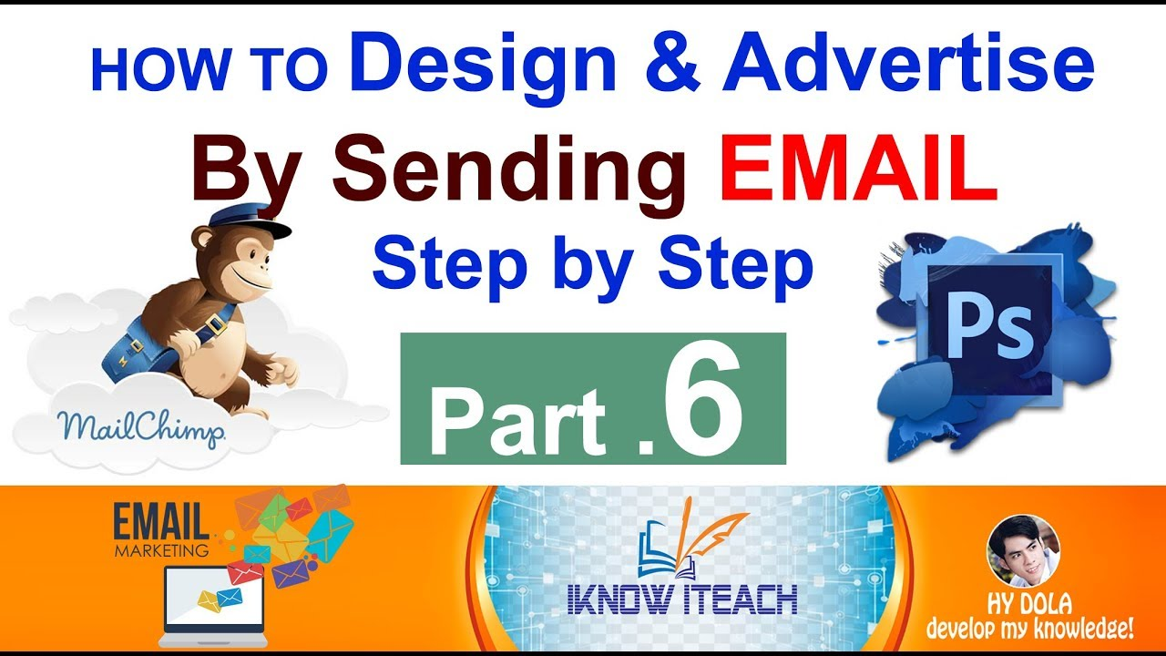 Part 6 Email Marketing Design Products Brochure Using Photoshop