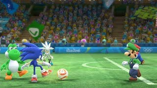 Mario and Sonic at The Rio 2016 Olympic Games #Football -Extra Hard-Team Sonic vs Team Yoshi