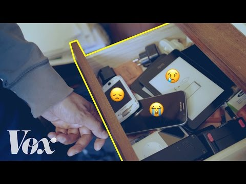 Thumbnail: Why your old phones collect in a junk drawer of sadness