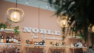 Noble Cider's Bar and Bistro: The Greenhouse's Grand Opening