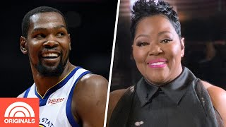Kevin Durant's Mom Tearfully Shares How Her Son 'Saved' Her Life | Through Mom's Eyes | TODAY