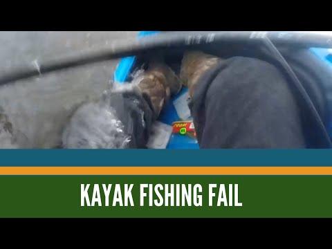 Kayak fail Grand River Lansing Michigan