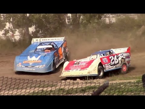 Topless RUSH Crate Late Model Heat One | Genesee Speedway | 9-17-17