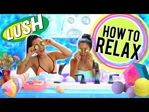 DIY Life Hacks for Relaxing You NEED to Try! + DIY Bath bomb! Niki and Gabi