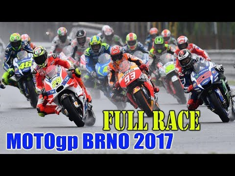 FULL RACE Motogp BRNO Republik Ceko 2017 [Marquez Juara]