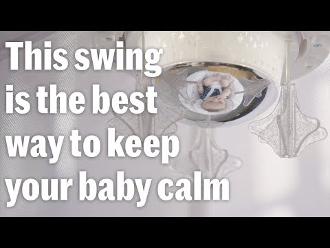 The Starlight Revolve Swing Is The Best Way To Keep Your Baby Calm