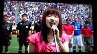 2013年6月9日に国立競技場で行われた、日本×イタリアOB戦レジェンドマッ...