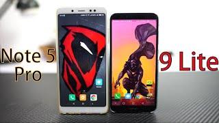 Redmi Note 5 Pro vs Honor 9 Lite Comparison |Speed | Battery | Face Unlock