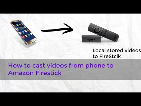 How to cast local video to Firestick | Phone to Amazon FireStick | Cast to TV | XCast