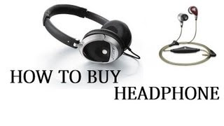 Headphone Buying Tips 1 : Frequency Response