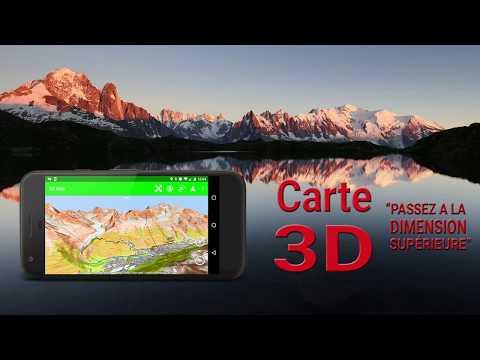 """Carte 3D """"Passez à la dimension supérieure"""""""