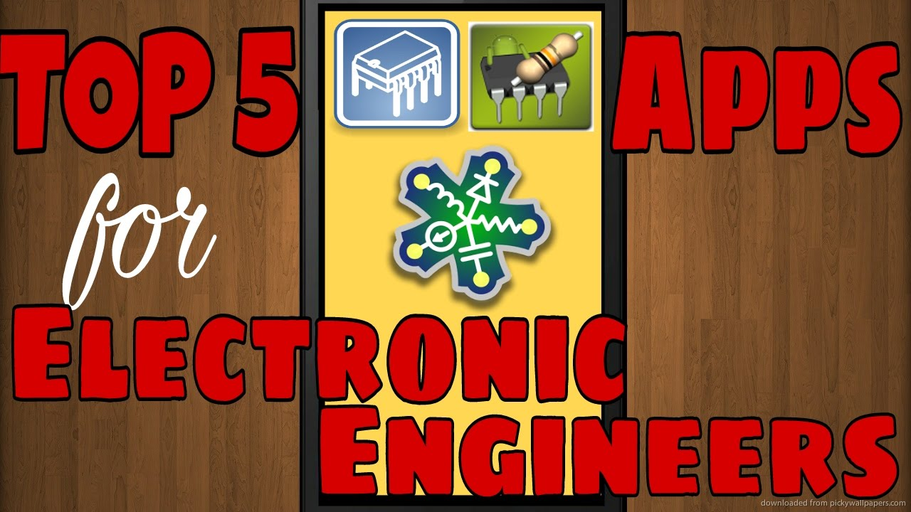 Top 5 Android Apps For Electronics Engineers Youtube 555 Timer Design Calculator Software
