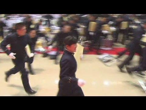 Graduation ceremony in Japan - no comment