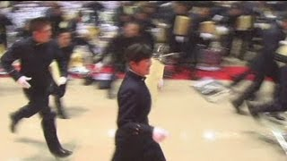 Graduation ceremony in Japan - no comment