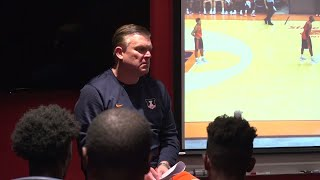 A Day with Brad Underwood | Illini Basketball Preview Show