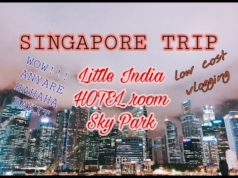 SINGAPORE TRIP Day 1 | What's good Little India? Anyare?! LOL