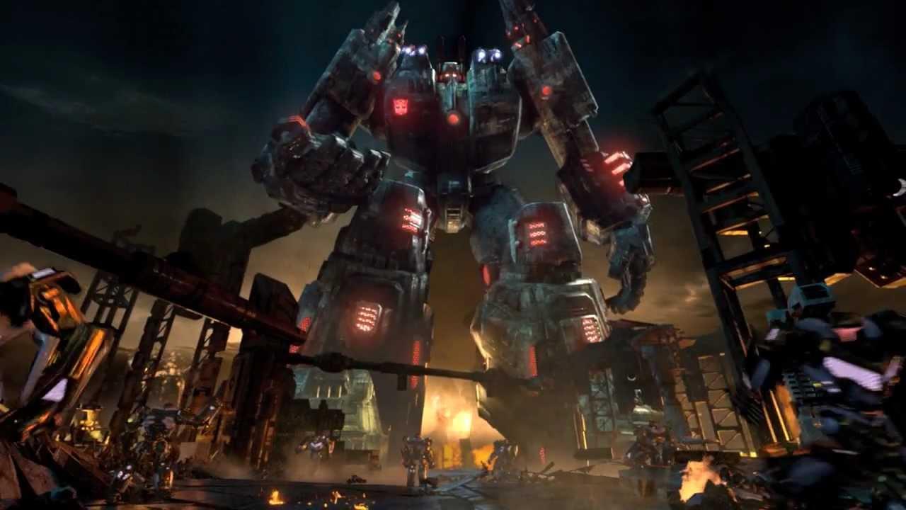 Grimlock Fall Of Cybertron Wallpaper E3 Trailer Official Transformers Fall Of Cybertron