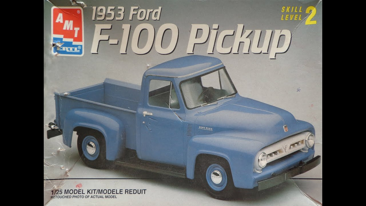 AMT 1953 Ford F 100 Part 01