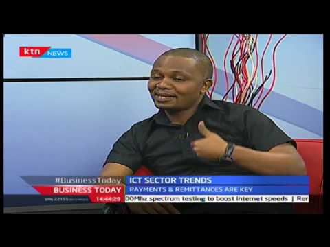Evans Githuku-Binary LTD, Young Entrepreneurs in ICT, Business Today 20/09/16