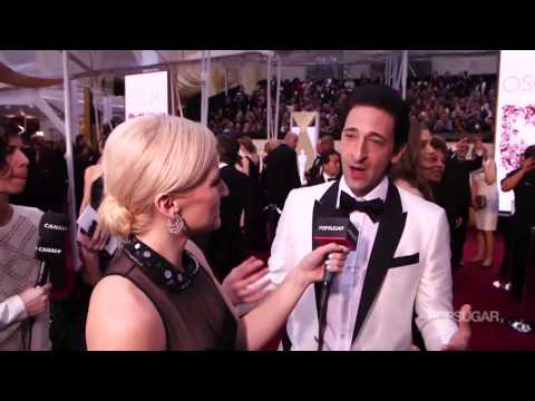 Adrien Brody Interview on The Grand Budapest Hotel on the Oscars 2015 Red Carpet