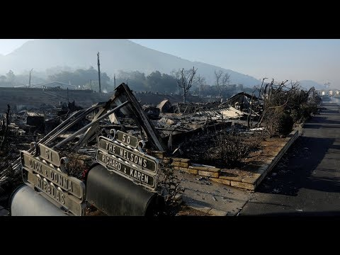 California Wildfires: Residents Return Home