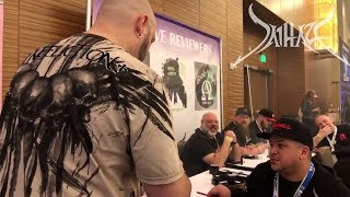 Walk Around Vape Expo and taste test