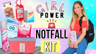 BACK TO SCHOOL DIY NOTFALL SET FÜR MÄDCHEN 🆘DIY Back to School Deutsch 2018