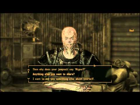 Fallout New Vegas Old School Ghoul part 1 of 2 Raul's Thoughts on Factions and Ranger Andy