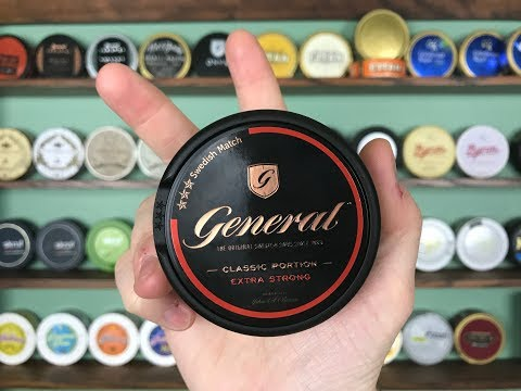 General Classic Extra Strong Snus Review