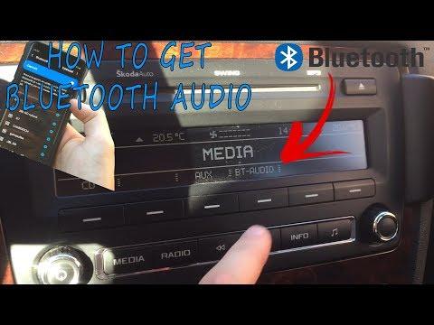 Škoda Octavia II - Radio SWING - How To Get Bluetooth Audio