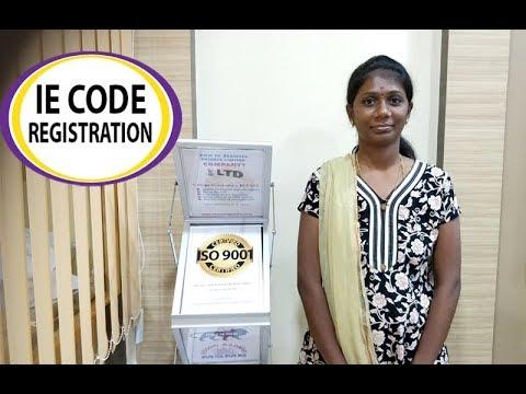 IE Code Registration In Chennai