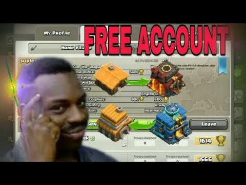 How To Get Free Coc Account ||2019||Prince Dax