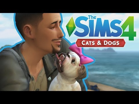 BEACH WALKS | The Sims 4 Cats and Dogs | Episode 1 |