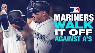Mariners walk-off against A's