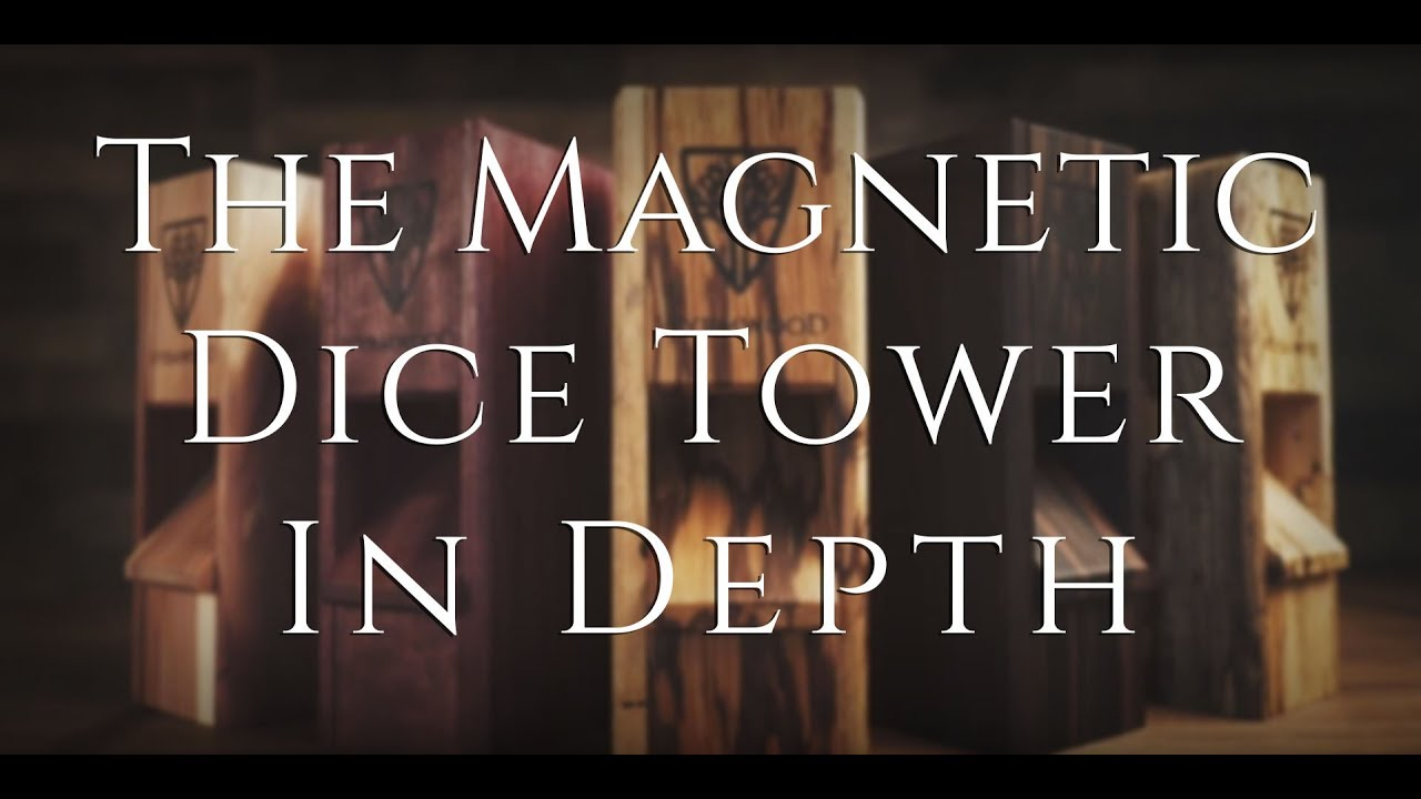 The Wyrmwood Magnetic Dice Tower Kickstarter - The Dice Tower In Depth