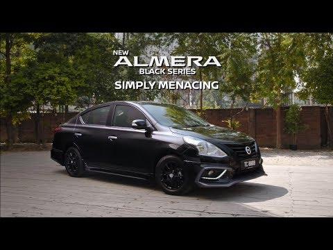New Nissan Almera Black Series Simply Menacing Youtube