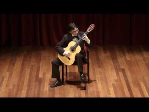 J.S.Bach-Suite BWV 995, Gavotte I-II - Luis Alejandro García, Guitar
