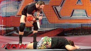 Bad News Barrett attacks Rob Van Dam: Raw, May 19, 2014
