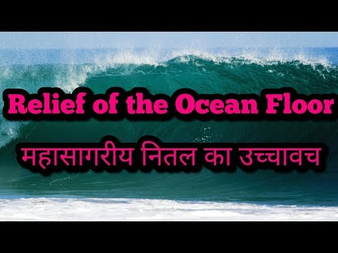 Relief of the Ocean Floor महासागरीय नितल का उच्चावच
