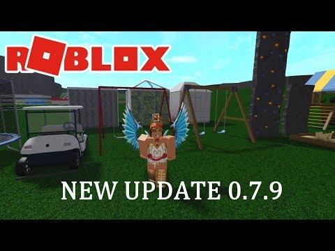 New Playground Sets Golf Cart And More Bloxburg Update 0 7 9