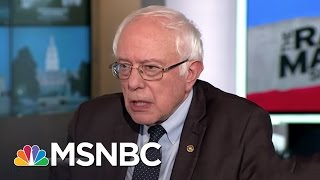 Bernie Sanders: Democrats Plan Nationwide Resistance Against Trump Agenda | Rachel Maddow | MSNBC
