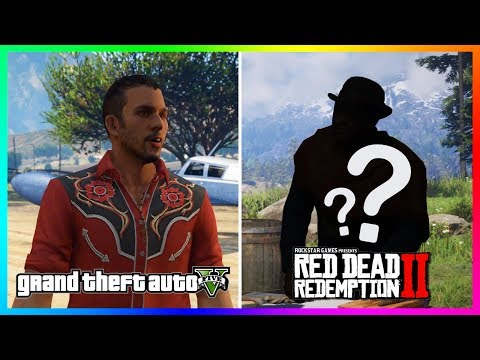 This Character From GTA 5 Is A Gang Member In Red Dead Redemption 2 That You Probably Don't Know!