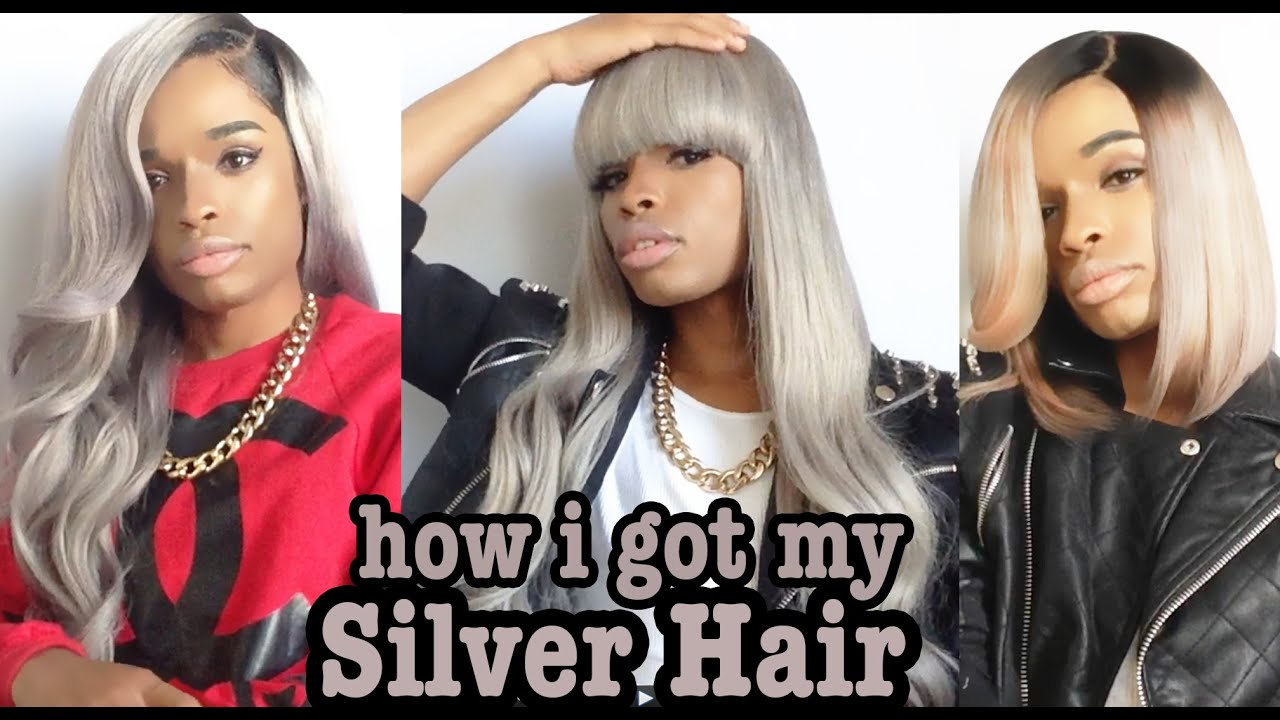 How did i get my greysilver hair detailed tutorial youtube geenschuldenfo Choice Image