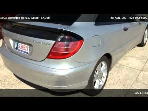 Ital Auto Okc >> 2002 Mercedes Benz C Class C230 Coupe For Sale In Oklahoma